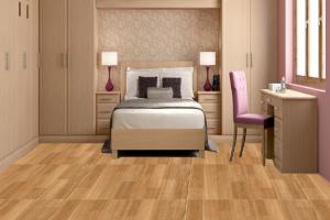 Gạch vân gỗ Prime thiết kế sắc nét như gỗ thật 100%