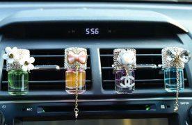 Sử dụng tinh dầu thơm làm cho không khí ô tô thêm thơm ngát