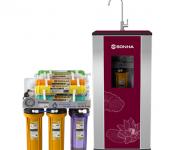 Máy lọc nước Ro tủ kính | Thông tin máy lọc nước có 7 lõi lọc