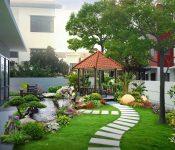 Mẫu tiểu cảnh sân vườn đẹp được yêu thích nhất hiện nay
