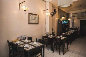 thiết kế nhà hàng chay quận 1 lẩu nấm An Nhiên