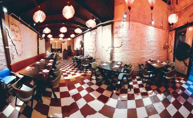 thiết kế nhà hàng Buddha Chay