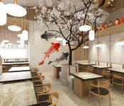 Ý tưởng thiết kế nhà hàng Nhật Bản đẹp và độc đáo
