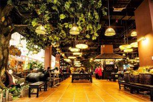 thiết kế khu vực ăn uống nhà hàng