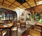 Mách bạn cách sử dụng nội thất gỗ mộc cho thiết kế nhà hàng