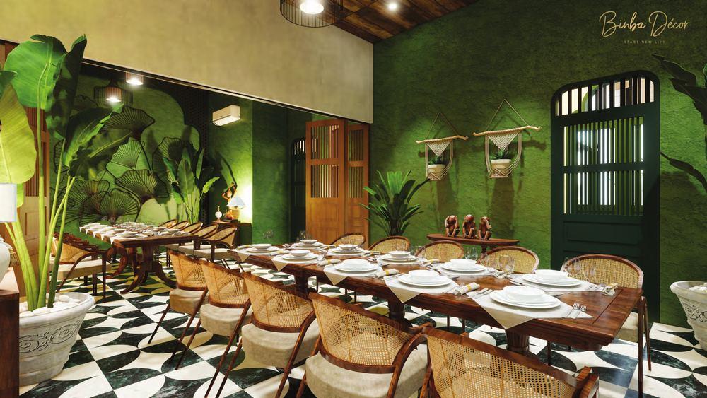 thiết kế nội thất nhà hàng 2