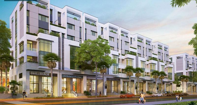 đầu tư nhà phố thương mại