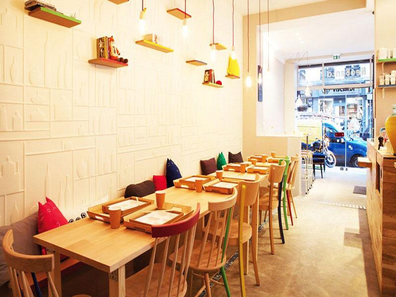 thiết kế nhà hàng ăn nhanh 3