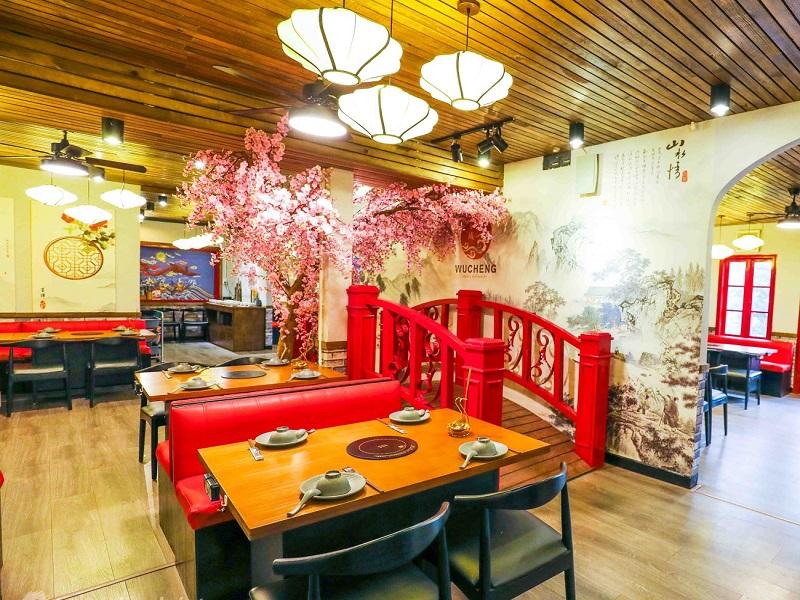 Thiết kế nhà hàng châu Á - Trung Hoa
