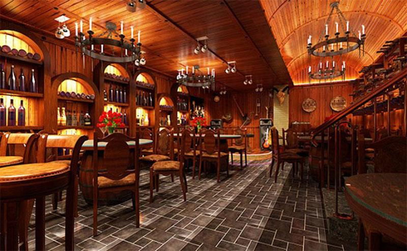 Thiết kế nhà hàng kiểu Pháp 2
