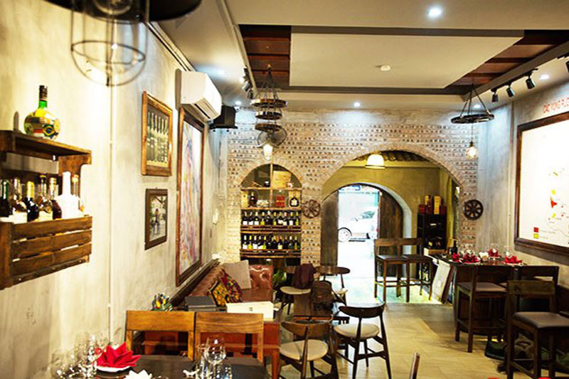 Thiết kế nhà hàng kiểu Pháp 3