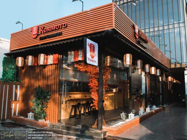Một trong những xu hướng thiết kế nhà hàng được chú ý hiện nay chính là: Thiết kế theo phong cách hiện đại.